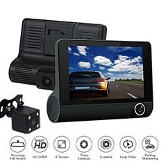 دوربین سه لنز داخل خودرو - دوربین فیلمبرداری خودرو