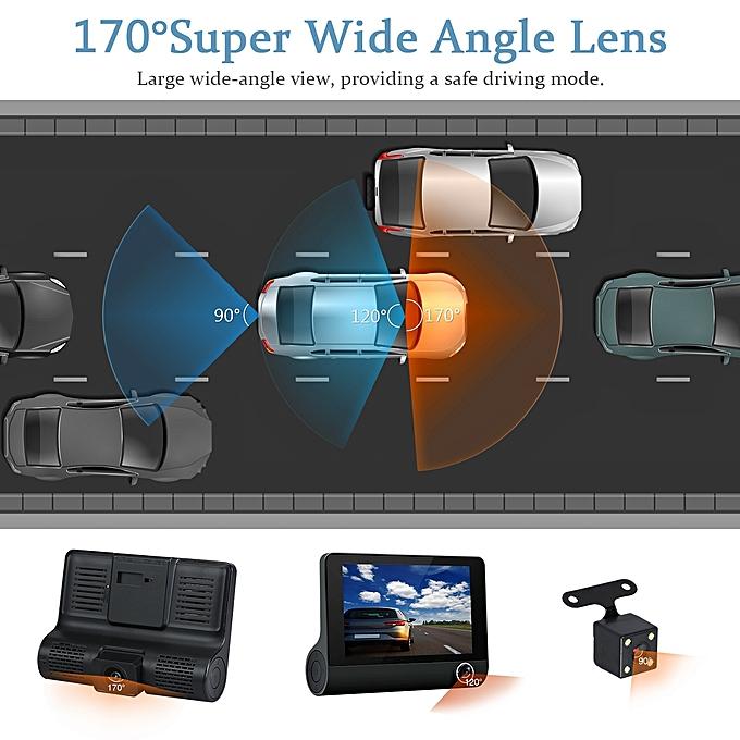 دوربین سه لنزه خودرو مدل S11 تضمین کمترین قیمت کامی کالا