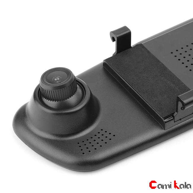 جعبه سیاه دو دوربین خودرو ، دوربین دنده عقب خودرو مانیتور دو دوربین DVR آیینه ای خودرو دو دوربین خودرو DVR مانیتور آیینه ای دو دوربین خودرو 4.3 اینچی ، DVR آیینه ای خودرو دو دوربین ، دوربین مدار بسته خودرو ، DVR خودرو