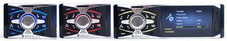 پخش کننده خودرو تصویری Car MP5 Player 4011 BS با صفحه نمایش 4.1 اینچی بلوتوث دار فلاش خور با ورودی دوربین دنده عقب خودرو و خروجی سیستم، رادیو دکلس تصویری 4.1 اینچی 4011