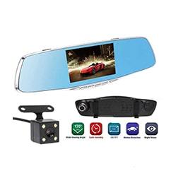 آینه مانیتور دو دوربین 5 اینچی Car Mirror Monitor DVR