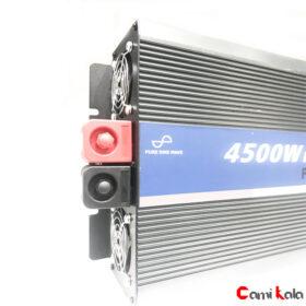 مبدل برق سینوسی 24 به 220 کوانتوم 4500 وات Inveter ، مبدل برق خودرو ، مبدل برق سینوسی 4500 ، مبدل برق خودرو کوانتوم، مبدل برق سینوسی کوانتوم، اینورتر برق خودرو 24 به 220 ولت ، اینورتر برق خودرو سینوسی
