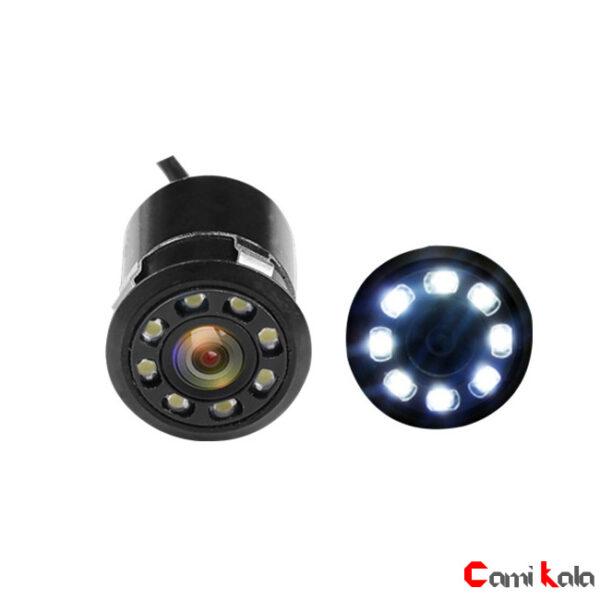 دوربین عقب دو حالته LED دار خودرو Camera Rearview 8 LED