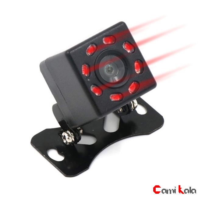 دوربین عقب مادون قرمز خودرو Camera RearView Infrared ، دوربین دنده عقب مادون قرمز ، دوربین عقب دید در شب کامی کالا. دوربین عقب مادون قرمز پلاکی