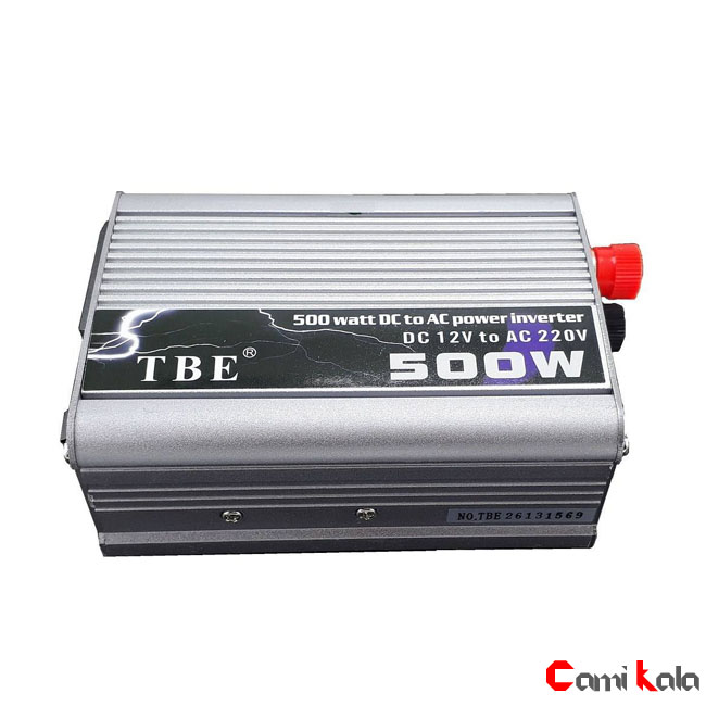 مبدل برق خودرو 500 وات Power Inveter TBE