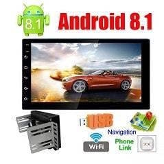 دستگاه پخش دودین اندروید 8.1 2Din Android ، دستگاه پخش دودین اندروید ، دودین اندروید. دودین اندروید، دودین ، دستگاه اندروید ، دودین اندروید