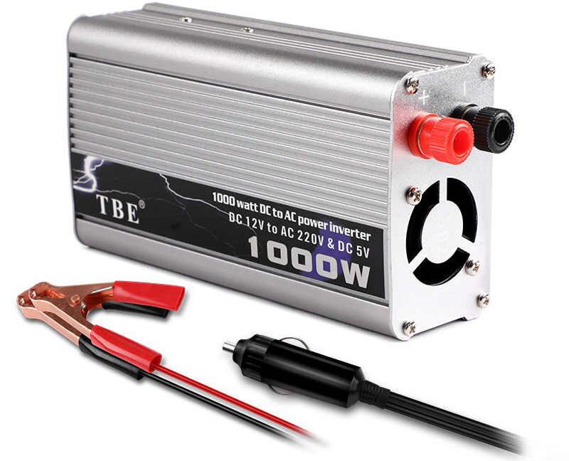 مبدل برق خودرو 1000 وات Power Inverter TBE