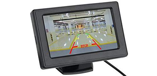 مانیتور پایه دار با دوربین عقب خودرو Monitor With Camera