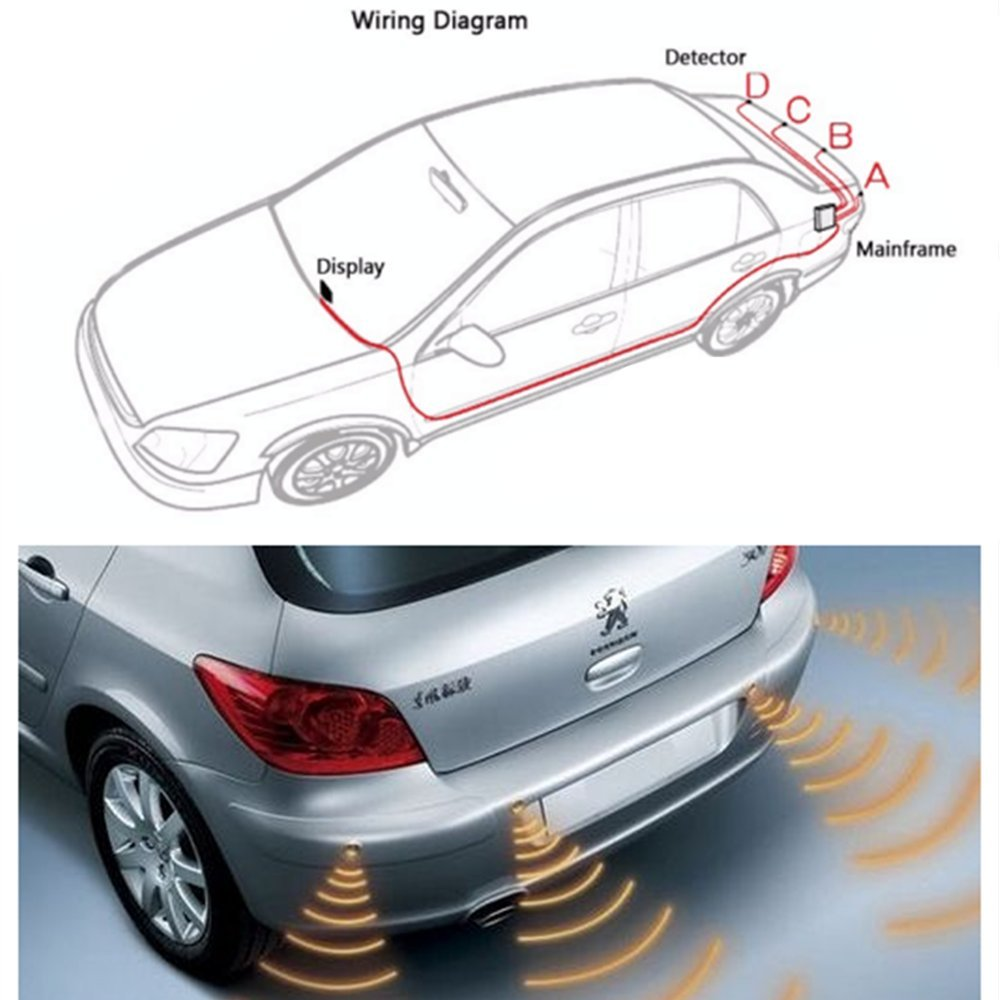 سنسور دنده عقب تصویری خودرو Car Sensor Back