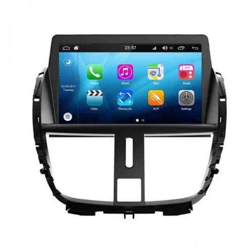 دستگاه پخش اندروید پژو 207 Car MultiMedia Peugeot ,مانیتور فابریک پژو 207,دستگاه پخش اندروید پژو,مانیتور اندروید 207,مانیتور اندورید 207,اندورید