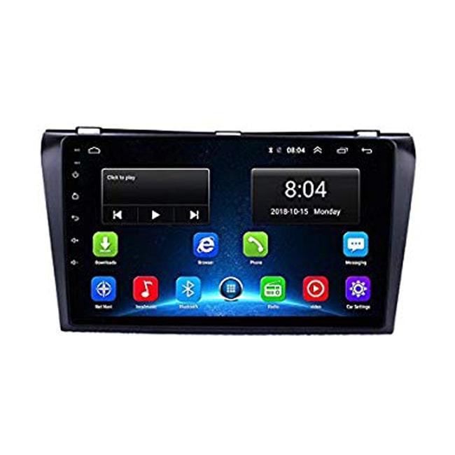 دستگاه پخش اندروید مزدا 3 Car Android Mazda, مانیتور اندروید مزدا 3,مالتی میدیا فابریک مزدا 3,پخش تصویری فابریک مزدا 3 قدیم,مزدا 3