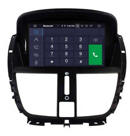 مانیتور اندروید پژو 207 مدل 7 اینچی Car Multimedia Android 207 7 Inch