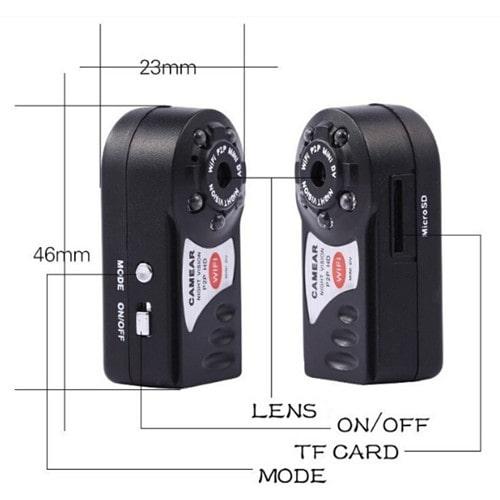 دوربین فیلمبرداری مینی مدل Car DVR Mini Q7