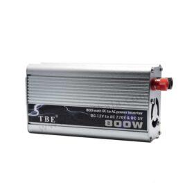 مبدل برق خودرو 800 وات TBE – اینورتر برق خودرو 800 وات TBE
