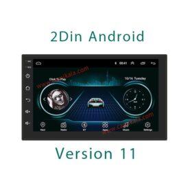 مانیتور دودین اندروید 7 اینچی ورژن 11 2Din Android