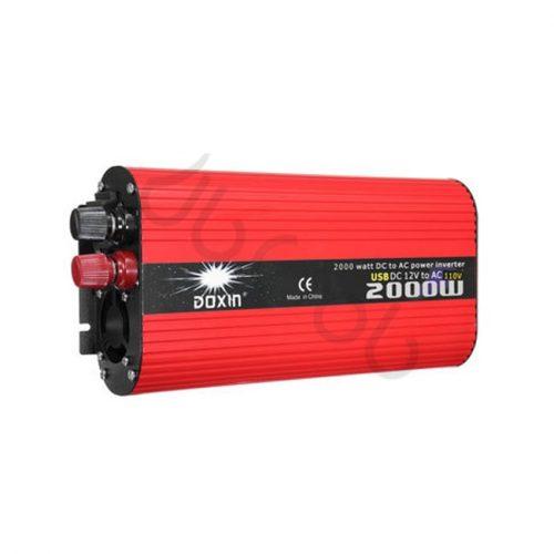 مبدل برق خودرو 2000 وات Power Inverter Doxin