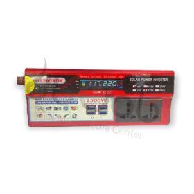 اینورتر برق خودرو 2500 وات صفحه دیجیتال Power Inverter