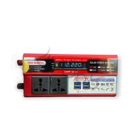 اینورتر برق خودرو 2000 وات صفحه دیجیتال Power Inverter